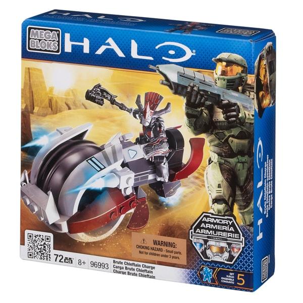 Mega Bloks Halo Brute Chieftan Charge Playset