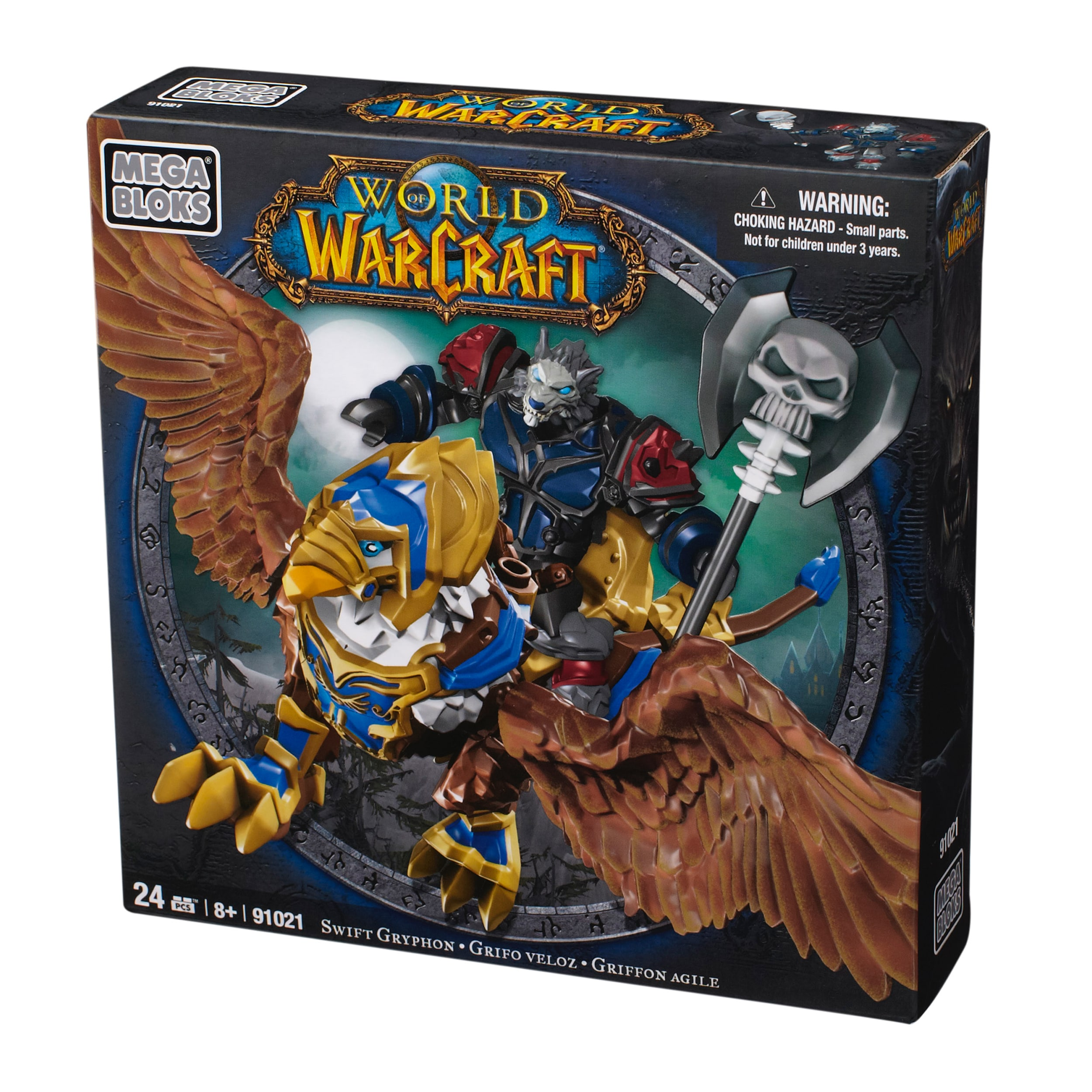 Mega Bloks World of Warcraft Swift Gryphon and Graven