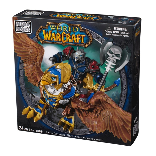 Mega Bloks World of Warcraft Swift Gryphon and Graven 9850883