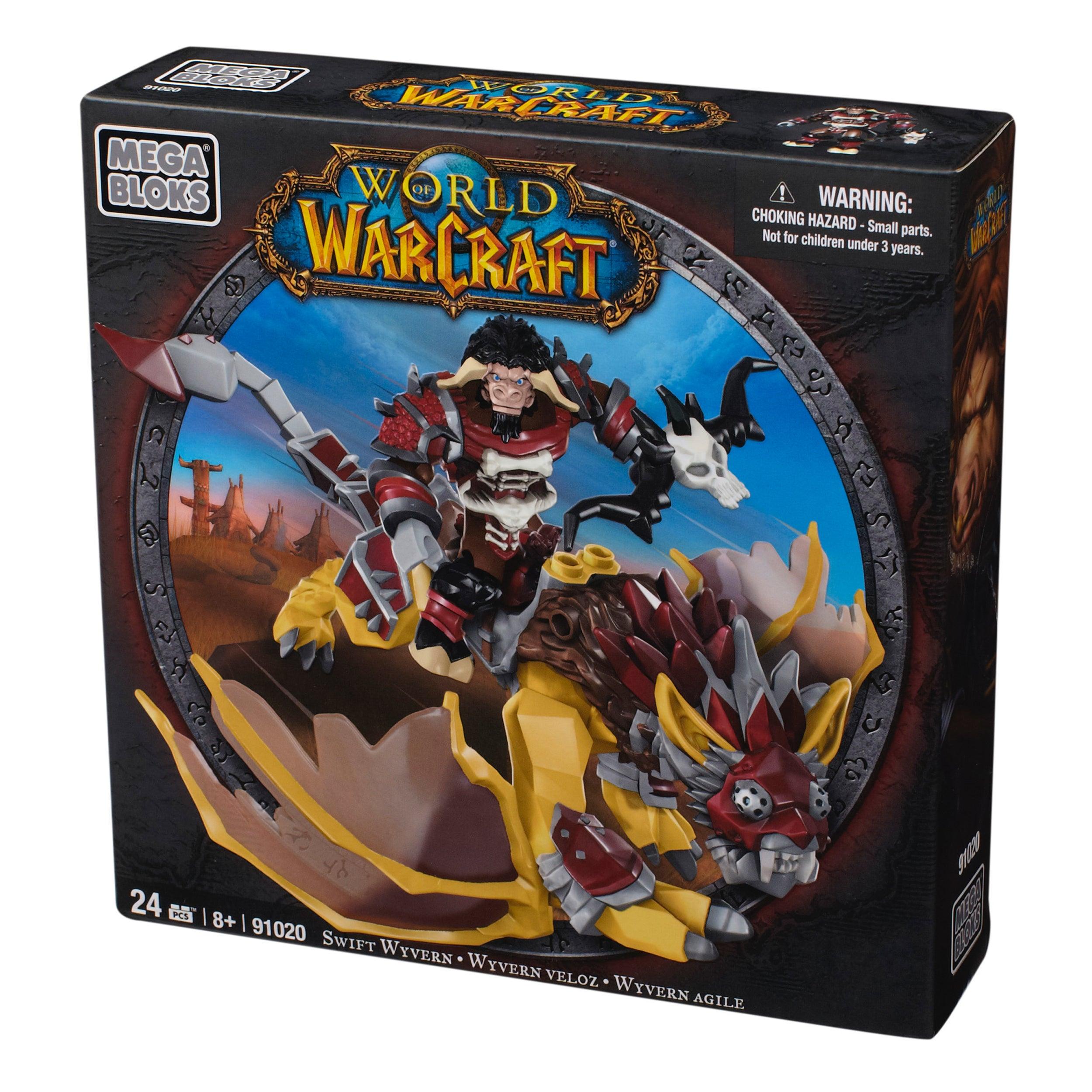Mega Bloks World of Warcraft Swift Wyvern and Scarbuck Playset