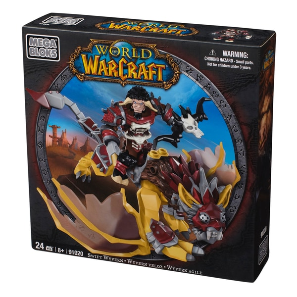 Mega Bloks World of Warcraft Swift Wyvern and Scarbuck Playset