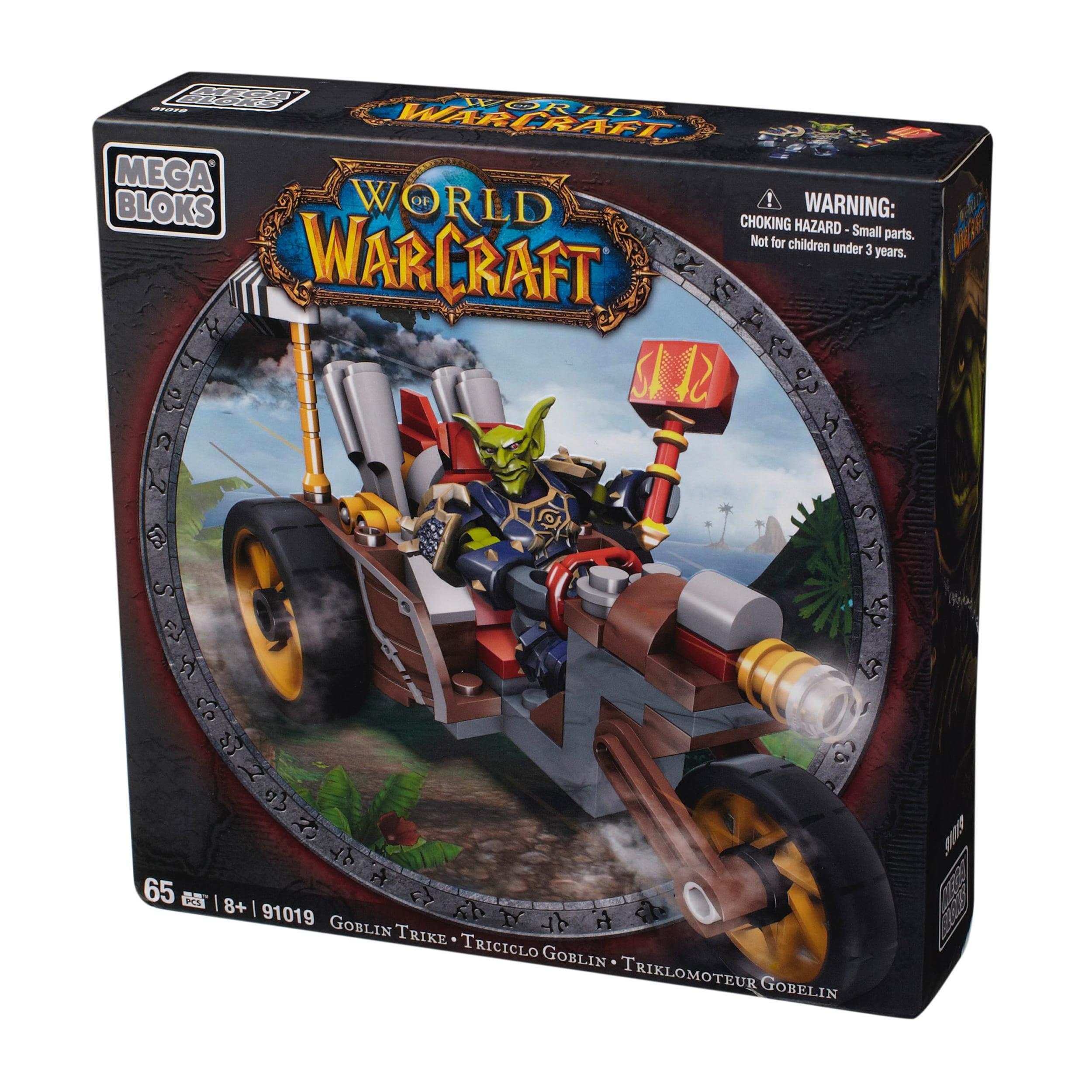 Mega Bloks World of Warcraft Goblin Trike and Pitz Playset