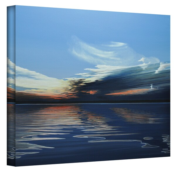 Ken Kirsch 'Quiet Reflections' Wrapped Canvas