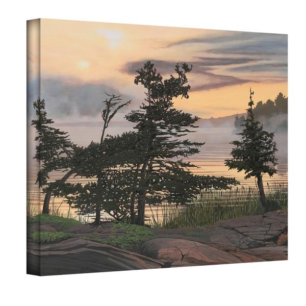 Ken Kirsch 'Auburn Evening' Wrapped Canvas