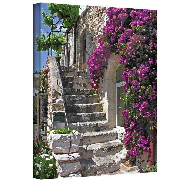 George Zucconi 'St Paul de Vence, France' Wrapped Canvas