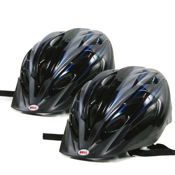 Bell Radar Dart Adult Bike Helmet in Blue (Pack of 2)