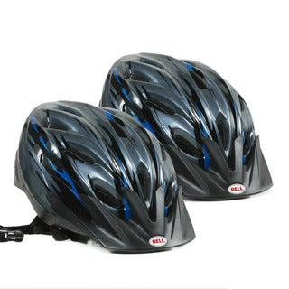 Bell Sports Youth Bike Helmet in Blue (2 Pack)