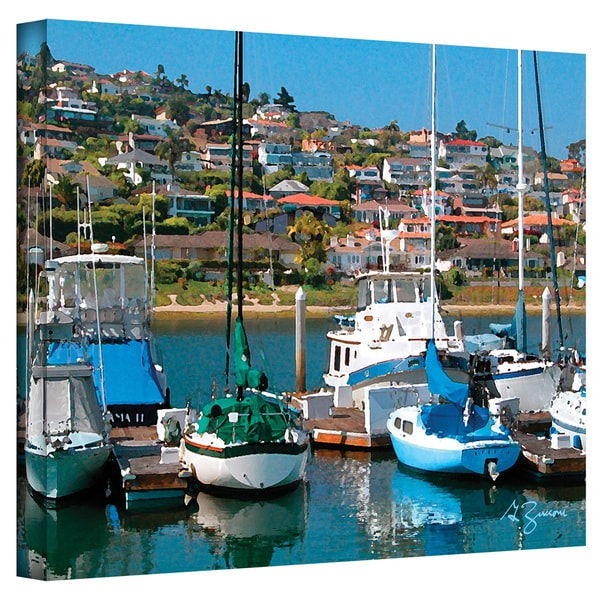 George Zucconi 'Point Loma, SD' Wrapped Canvas