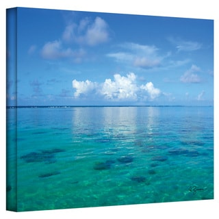 George Zucconi 'Lagoon & Reef' Wrapped Canvas