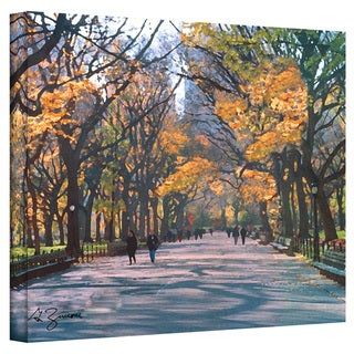 George Zucconi 'Central Park' Wrapped Canvas