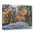 George Zucconi &#39;Central Park Wrapped Canvas