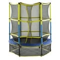 Upper Bounce 55-inch Kid-friendly Trampoline and Enclosure Set