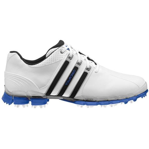 Mens Adidas Tour360 ATV Black Stripe Golf Shoes