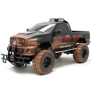 GIGANTIC Dodge Ram Mudslinger Monster Truck 1:6 Scale