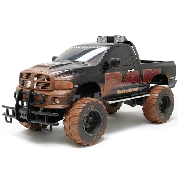 GIGANTIC Dodge Ram Mudslinger Monster Truck 1:6 Scale