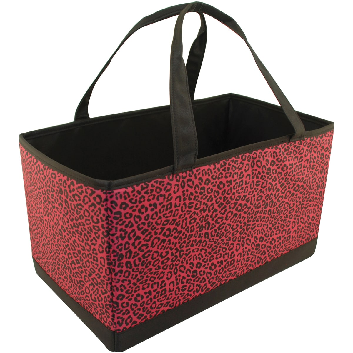 Mackinac Moon Large Yarn Organizer-Animal Print-Pink/Black