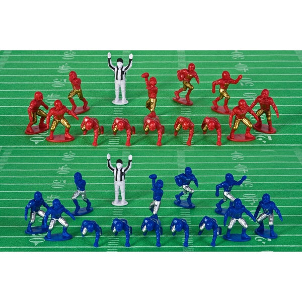 Kaskey Kids Football Guys Red/ Blue Action Figures