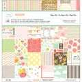 "Dear Lizzy Neapolitan Paper Pad 12""X12""-24 Different Patterns/ 2 Each"