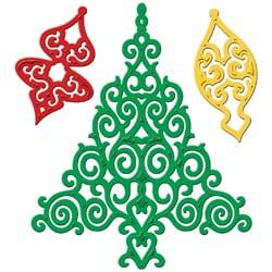 Spellbinders Shapeabilities Dies-Holiday Tree
