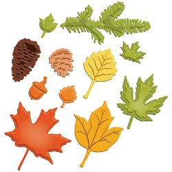 Spellbinders Shapeabilities Dies-Fall Foliage