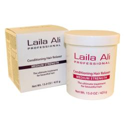 Laila Ali Medium Strength 9.5-ounce Conditioning Hair Relaxer