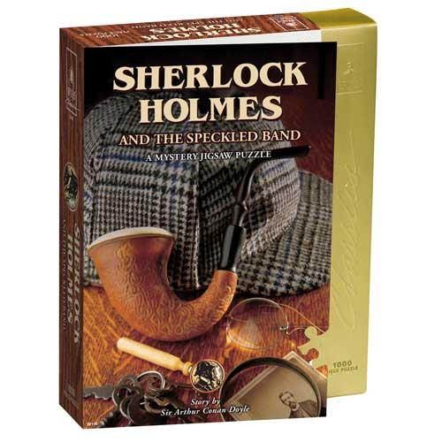 Sherlock Holmes and The Speckled Band Mystery 1000 piece Jigsaw Puzzle
