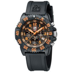 Luminox Men's Orange Chronograph Watch