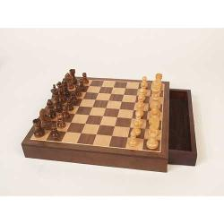 Walnut Wood Chess Set