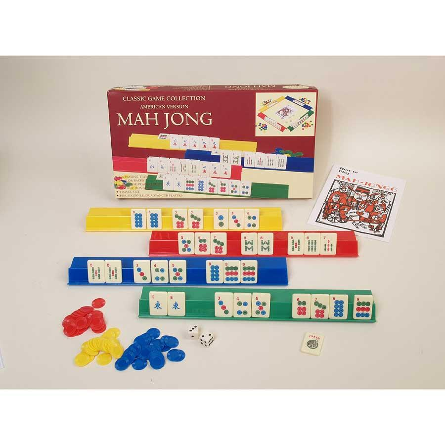 John N. Hansen Co Mah Jong Game Set