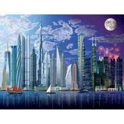 Ravensburger 2000-piece World's Highest Buildings Jigsaw Puzzle