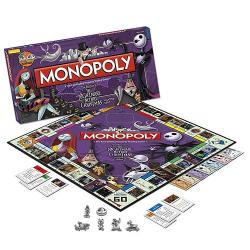 Nightmare Before Christmas Edition Monopoly Game