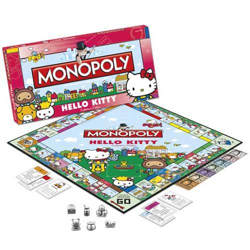 Hello Kitty Collector's Edition Monopoly Game