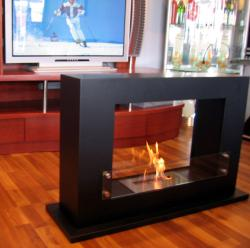 EVEN MAX Free Standing Portable Bio Ethanol Fuel Fireplace