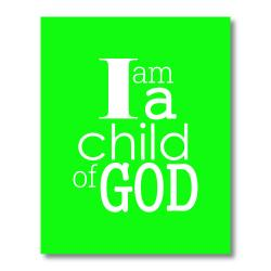 Trendography Prints  'Child of God' Graphic Art Print