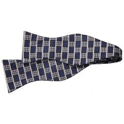 Boston Traveler Men's Microfiber Self-tie Bowtie