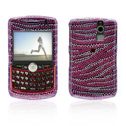 Glitter Zebra BlackBerry Curve 8300/ 8330 Protector Case   Overstock ...