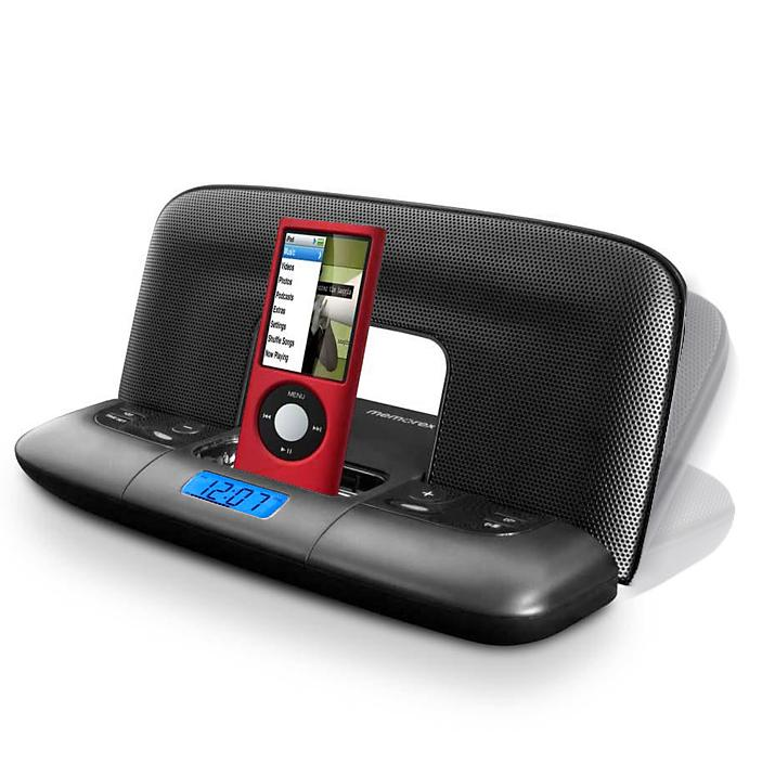 Memorex MI2290 Foldable Travel Speaker System for iPod
