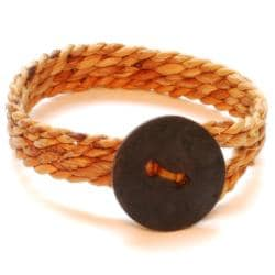 Banana and Steel Men's BC12 Bracelet (Rwanda)