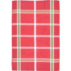 Jacquard Red Noel Tea Towels (Set of 2)
