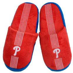 Philadelphia Phillies Striped Slide Slippers