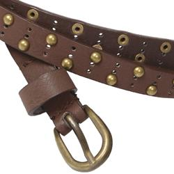 Hailey Jeans Co. Junior's Studded Double-wrap Belt