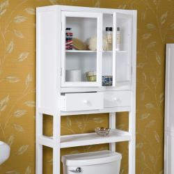 Ace Deluxe White Spacesaver Bathroom Cabinet