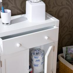 Ace Deluxe White Storage Cabinet