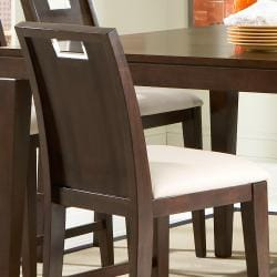 Silves Dark Cherry Counter-height Chairs (Set of 2)
