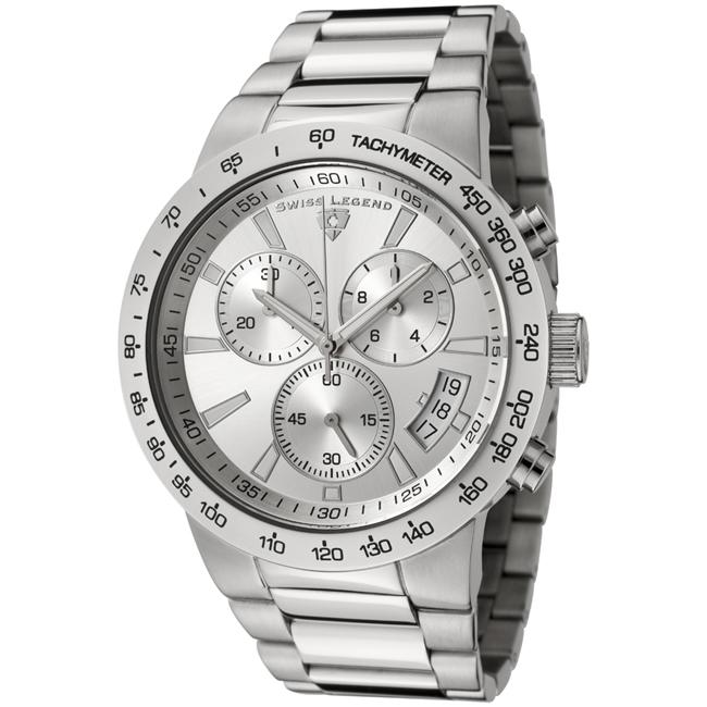 Swiss Legend Men's Endurance Stainless Steel Chronograph Watch