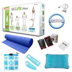 "Nintendo Wii Fit Plus ""Holiday Fun"" Bundle"