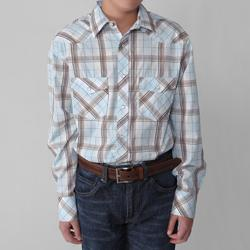 Gioberti by Boston Traveler Boy's Plaid Shirt