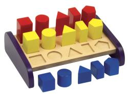 Guidecraft 3 in a Row Sorter Activity Set