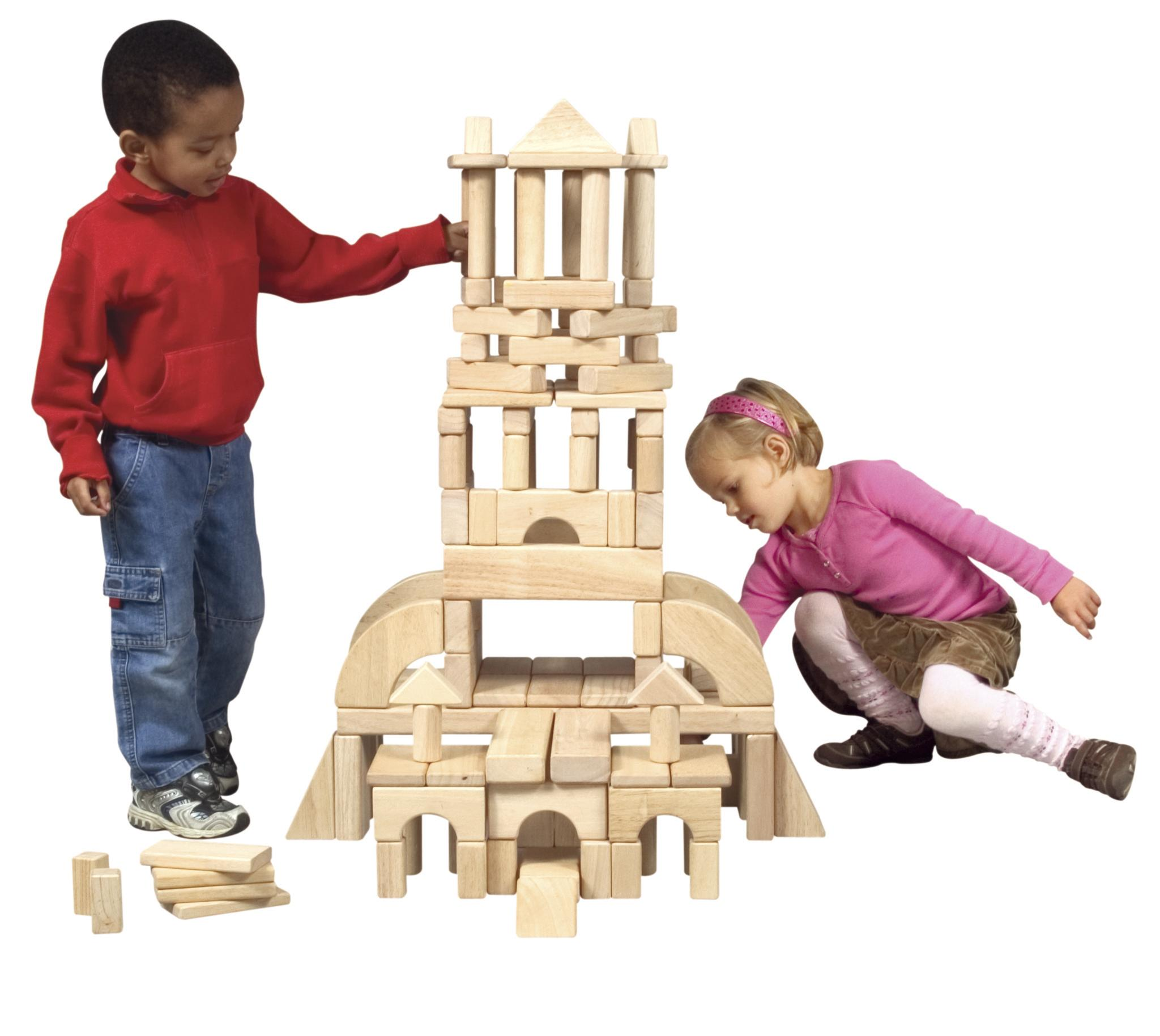 Classroom 86-piece Building Blocks