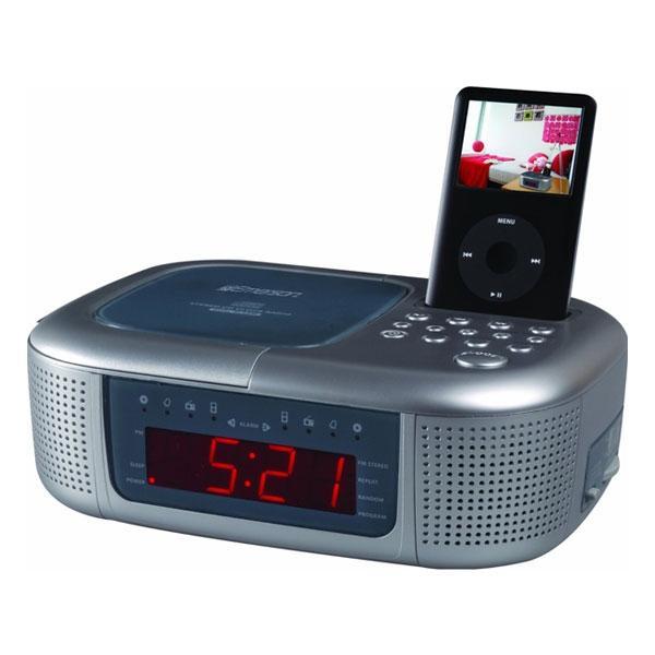emerson ic2196 ipod dock alarm clock radio 13315127 shopping big discounts. Black Bedroom Furniture Sets. Home Design Ideas